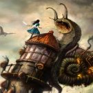 Alice Madness Returns Game Art 32x24 Poster Decor