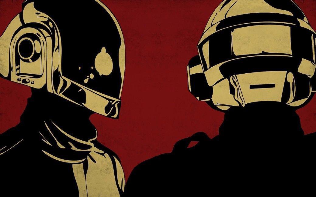Daft Punk Music Star Art 32x24 Poster Decor