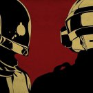 Daft Punk Music Star Art 32x24 Poster Decor