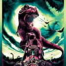 Jurassic World Dinosaurs Movie Art 32x24 Poster Decor