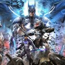 Batman Arkham City Art 32x24 Poster Decor