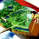 Castle In The Sky Manga Anime Art 32x24 Poster Decor