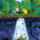 Adventure Time With Finn Jake Art 32x24 Poster Decor