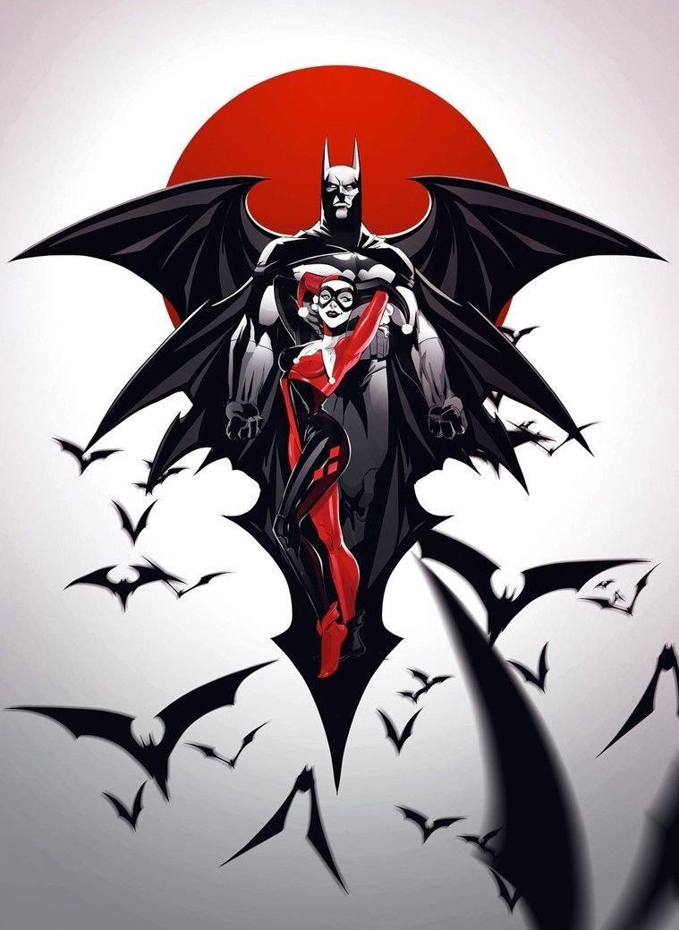 Catwoman Harley Quinn Poison Ivy Art 32x24 Poster Decor