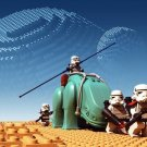 LEGO Star Wars The Force Awakens Art 32x24 Poster Decor