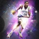 Kevin Durant Basketball Star Art 32x24 Poster Decor