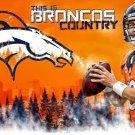Peyton Manning Art 32x24 Poster Decor