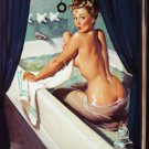 Vintage Gil Elvgren Pinup Girl Art 32x24 Poster Decor