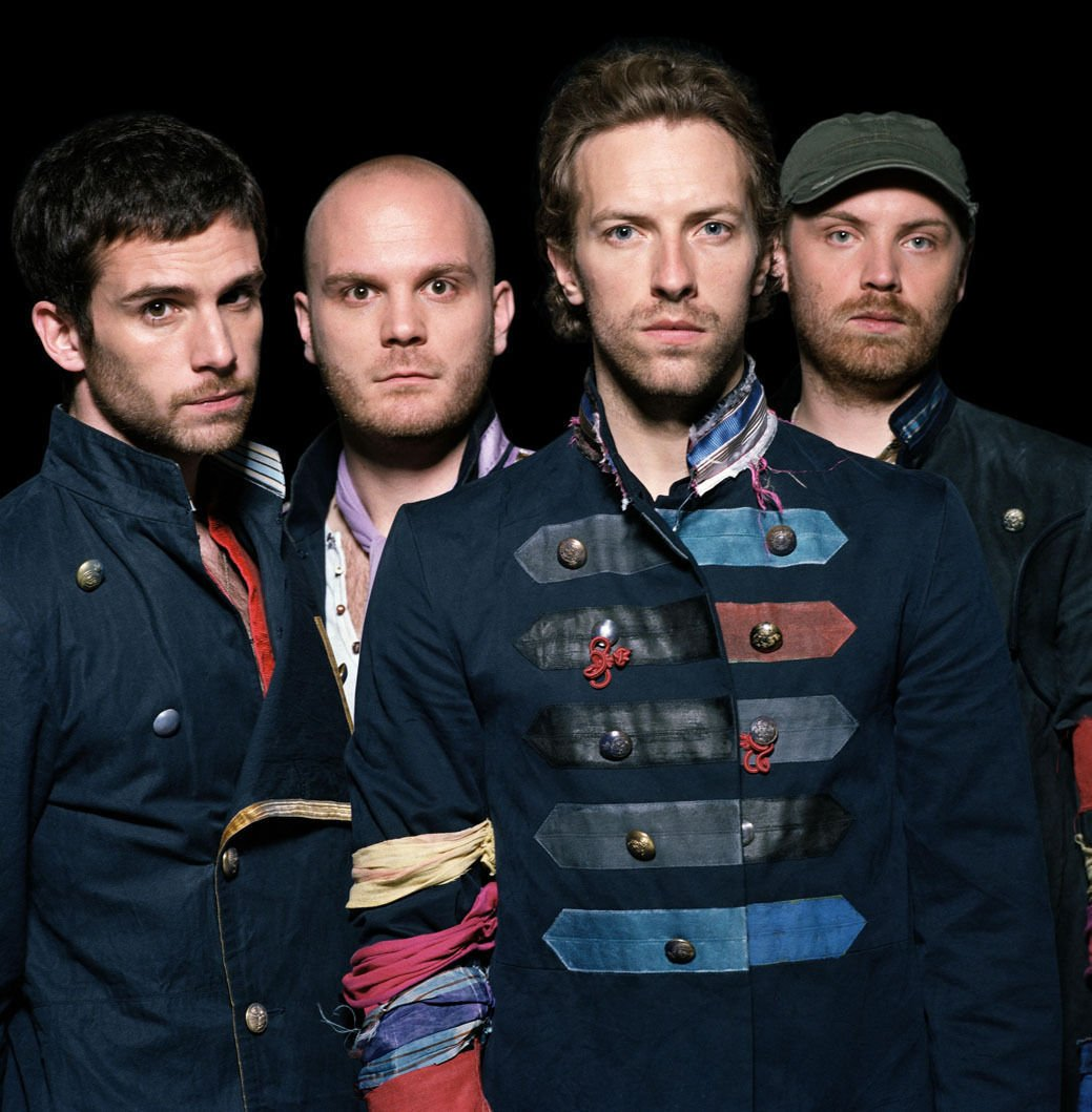 Coldplay Music Band Group Art 32x24 Poster Decor