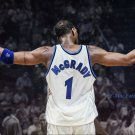 Tracy Mcgrady Basketball Star Art 32x24 Poster Decor