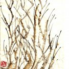 Chinese Water Ink Brush Paint Style Art 32x24 Poster Decor