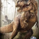 Jurassic World Dinosaurs Movie Art 32x24 Poster Decor