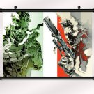 Metal Gear Solid 4 Game Poster With Wall Scroll Decor