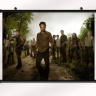 The Walking Dead 1 2 3 4 Poster With Wall Scroll Decor