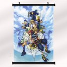 Kingdom Hearts Boy 1 2 Poster With Wall Scroll Decor