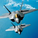 F 22 Raptor Stealth Fighter Art 32x24 Poster Decor