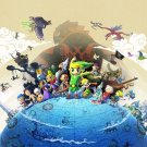 The Legend Of Zelda 25th Anniversary Art 32x24 Poster Decor