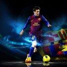 Lionel Messi Football Star Soccer Art 32x24 Poster Decor