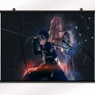 Sword Art Online SAO ALO Poster With Wall Scroll Decor