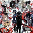 Tokyo Ghoul Japanese Anime Art 32x24 Poster Decor