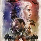 Game Of Thrones GOT Winter Coming Art 32x24 Poster Decor