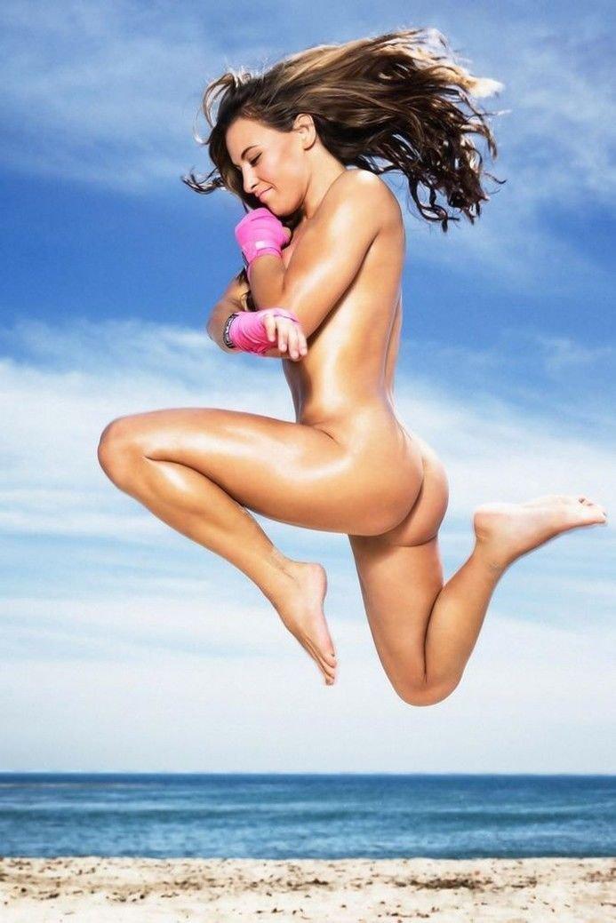Miesha Tate Hot Girl Fighter MMA Art 32x24 Poster Decor