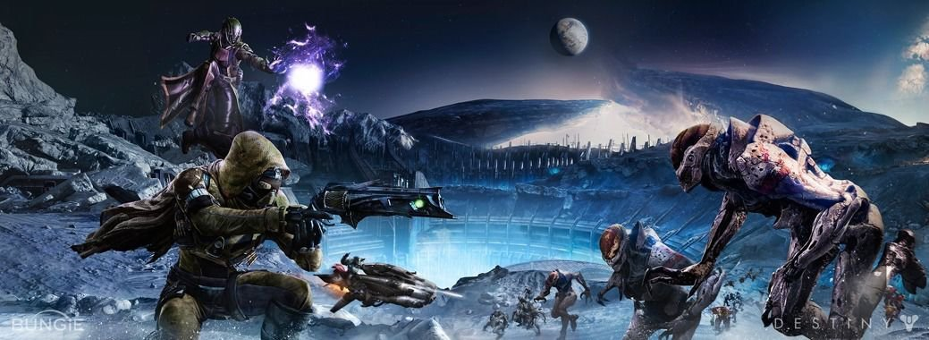 Destiny Hot Game Art 32x24 Poster Decor