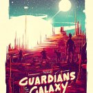 Guardians Of The Galaxy Art 32x24 Poster Decor