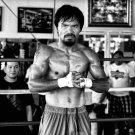 Manny Pacman Boxing Champion Art 32x24 Poster Decor