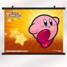 Kirby Star Game Poster With Wall Scroll Decor