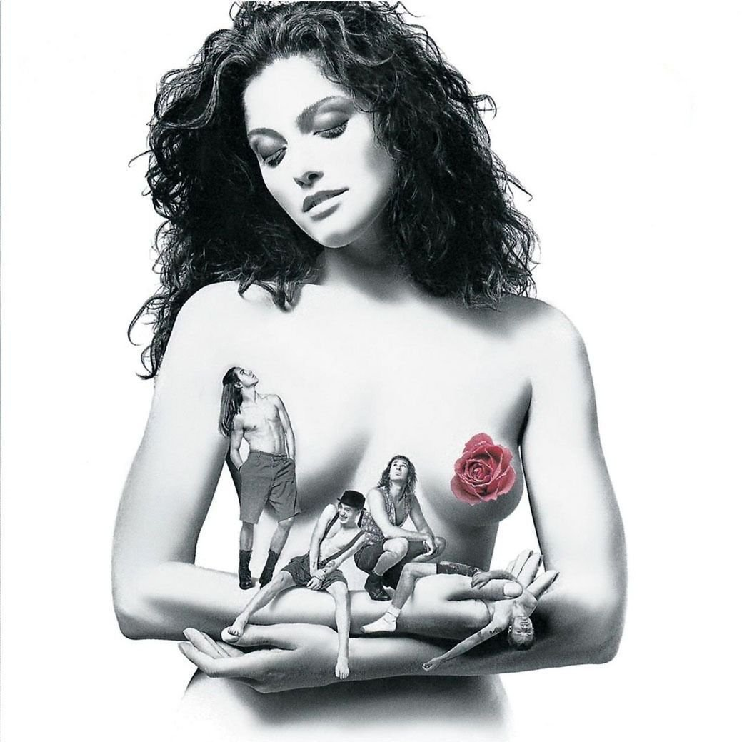 Hot Chili Peppers Mothers Milk Flower Art 32x24 Poster Decor