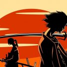 Samurai Champloo Anime Manglobe Art 32x24 Poster Decor