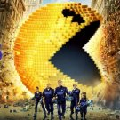 Pixels 2015 Movie Art 32x24 Poster Decor