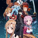 Sword Art Online SAO ALO Art 32x24 Poster Decor