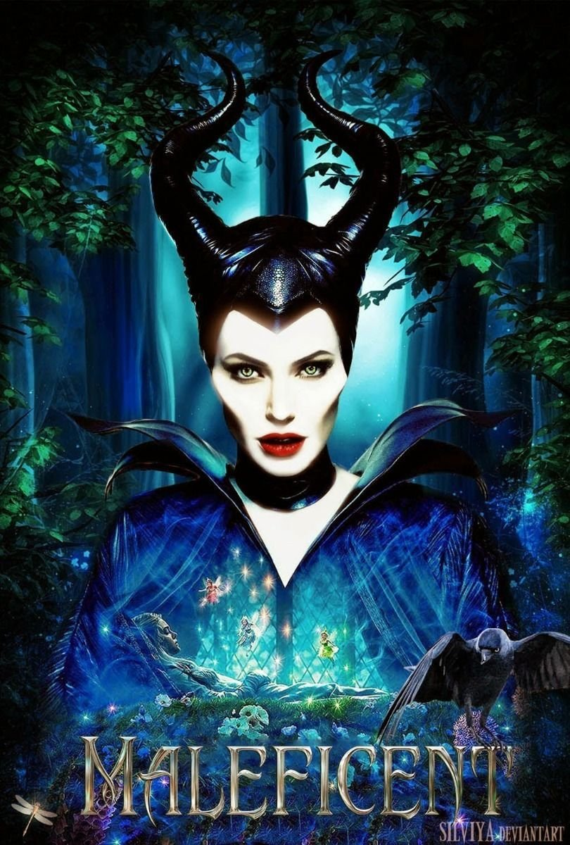 Maleficent 2014 Hot Movie Art 32x24 Poster Decor