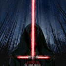 Star Wars 7 The Force Awakens Art 32x24 Poster Decor