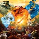 Lego Ninjago Art 32x24 Poster Decor