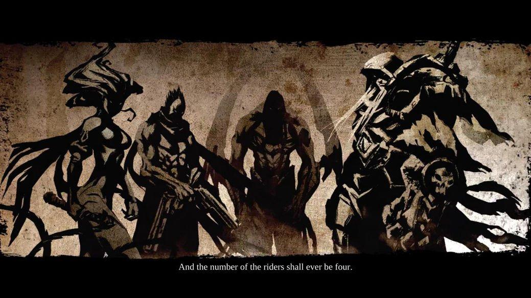 Darksiders Wrath Of War Game Art 32x24 Poster Decor