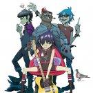 Gorillaz Music Band Group Art 32x24 Poster Decor