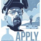 Breaking Bad 1 2 3 4 5 6 TV Art 32x24 Poster Decor
