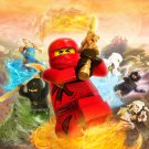 Lego Ninjago Art 32x24 Poster Decor
