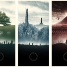 The Lord Of The Rings 1 2 3 Movie Art 32x24 Poster Decor