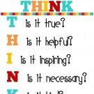 Before Speak Classroom Motivational Art 32x24 Poster Decor
