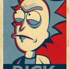 Rick And Morty TV Animation Art 32x24 Poster Decor