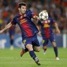 Lionel Messi Football Star Art 32x24 Poster Decor