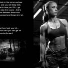 Bodybuilding Fitness Motivation Art 32x24 Poster Decor