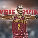 Kyrie Irving Basketball Star Art 32x24 Poster Decor