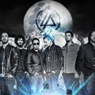 Linkin Park Rock Band Art 32x24 Poster Decor