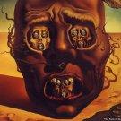 Salvador Dali The Face Of War Art 32x24 Poster Decor
