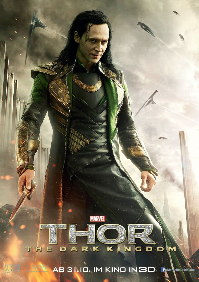 Thor 2 Loki The Dark World Movie Art 32x24 Poster Decor